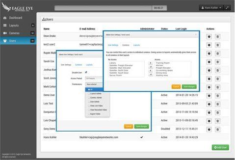 EE User Admin Console