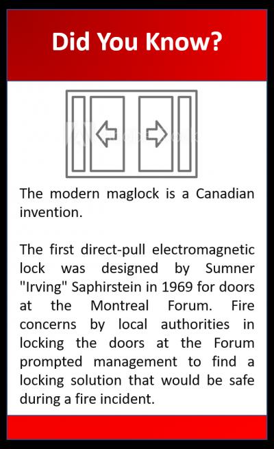 maglocks invention