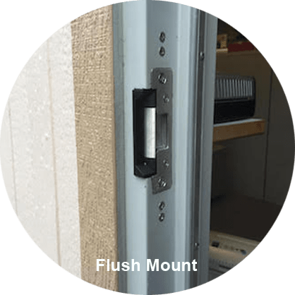 Electric Strike Flush Mount