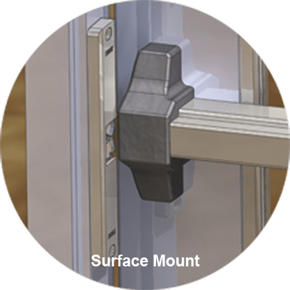 Electric Strike Surface Mount