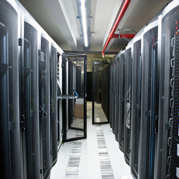 Server Cage within a Data Centre