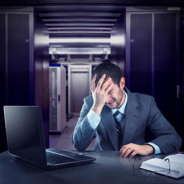 Stressed Data Centre Manager